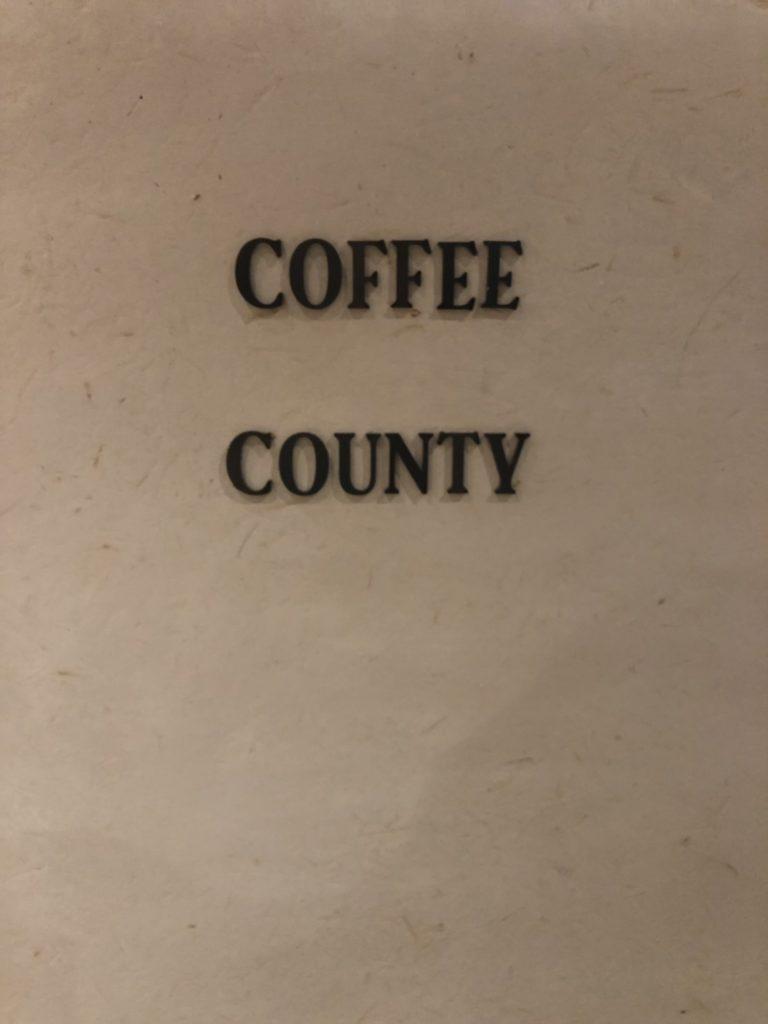 中州の「coffee county」